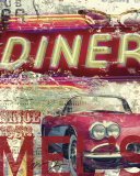 Mel&#39;s Diner Prints by Eric Yang
