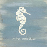 Imperial Seahorse Prints by  Z Studio