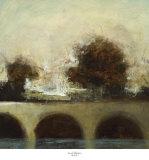 Foggy Bridge I Poster af Randy Hibberd