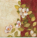 Carmine Pattern II Prints by Matina Theodosiou