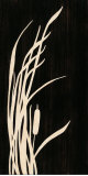 Bulrush Silhouette I Prints by  Z Studio