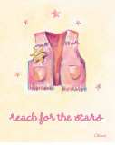 Little Pink Vest Prints by Catherine Richards