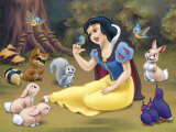 Snow White's Forest Friends Affiche