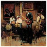 Latin Jazz Posters by Myles Sullivan