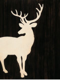 Stag Silhouette Posters by  Z Studio