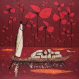 Crimson Sky Posters av Michel Rauscher