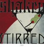 Shaken Stirred Prints by K.c. Haxton