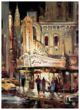 Metropolitan Jazz Print by Brent Heighton