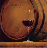 Estate Shiraz Print by Marco Fabiano
