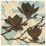 Embossed Magnolia I Prints by Melissa Pluch