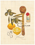 Olive Cucina Posters by Marco Fabiano
