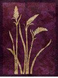Amethyst Botanica Prints by  Z Studio
