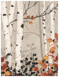 Birch Damask Art by Melissa Pluch