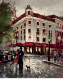 Welcome Embrace Poster von Brent Heighton