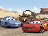 The Cast of Cars Kunstdrucke