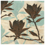 Embossed Magnolia II Poster by Melissa Pluch