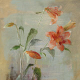 Contemporary Lilies I Prints by Danhui Nai