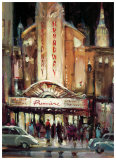 Broadway Premiere Prints by Brent Heighton