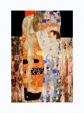 Les trois âges de la femme Art par Gustav Klimt