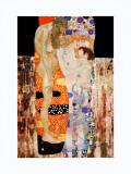 As Três Idades da Mulher, c.1905 Arte por Gustav Klimt