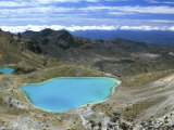 Emerald Lakes, Tongariro National Park, North Island, New Zealand Photographic Print by Rob Tilley