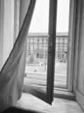 View from La Scala Opera Window, Milano, Italy Photographic Print by Walter Bibikow