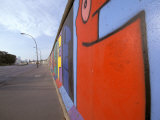 Eastside Art Gallery, Berlin Wall, Berlin, Germany Photographic Print by Walter Bibikow