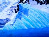 Blue Icebergs, Antarctica Photographic Print by Joe Restuccia III