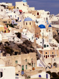 Traditional Architecture on Santorini, Greece Photographic Print by Keren Su