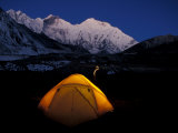 First Light on Mt. Everest From the Kangshung, Tibet Photographic Print by Vassi Koutsaftis