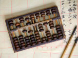 Chinese Abacus with Brushes, China Photographic Print by Keren Su