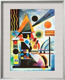 Balancement Prints by Wassily Kandinsky