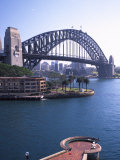 Sydney Harbor Bridge, Australia Photographic Print by David Wall