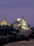 Alcazar, Segovia, Spain Photographic Print by David Barnes