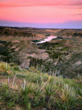 View from Woodhawk Point, Missouri River, Upper Missouri Breaks National Monument, Montana, USA Photographic Print by Scott T. Smith