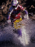 Dirt Biking, Colorado, USA Photographic Print by Lee Kopfler