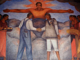 Murals by Diego Rivera, Secretary of Public Education, Mexico Photographic Print by Russell Gordon