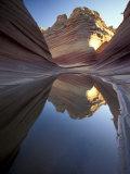 Coyote Butte Landscape, Vermilion Cliffs, Utah, USA Photographic Print by Gavriel Jecan