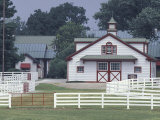 Calumet Horse Farm, Lexington, Kentucky, USA Photographic Print by Adam Jones