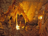 Drapery Room, Mammoth Cave National Park, Kentucky, USA Photographic Print by Adam Jones