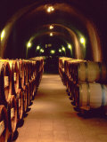 Wine Cave at the Pine Ridge Winery on the Silverado Trail, Napa Valley, California, USA Photographic Print by John Alves