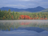 Fall Reflections in Chocorua Lake, White Mountains, New Hampshire, USA Fotografie-Druck von Jerry & Marcy Monkman