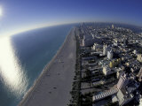 Aerial View of South Beach, Miami, Florida, USA Photographic Print by Robin Hill