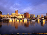 Waterfront of the Willamette River, Portland, Oregon, USA Photographic Print by Janis Miglavs