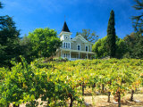 Victorian St. Clement Winery, St. Helen, Napa Valley Wine Country, California, USA Photographic Print by John Alves