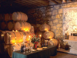 Entrance to the Wine Caves at the Del Dotto Winery, Napa Valley Wine Country, California, USA Photographic Print by John Alves