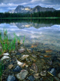 Rocky Shore of Frog Lake, Challis National Forest, Sawtooth National Recreation Area, Idaho, USA Photographic Print by Scott T. Smith