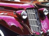 Classic Auburn Car Photographic Print by Bill Bachmann