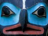 Totem in Sitka Totem Park, Alaska, USA Photographic Print by Hugh Rose