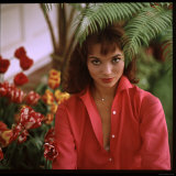 Portrait of Actress Elsa Martinelli Premium Photographic Print by Ralph Crane